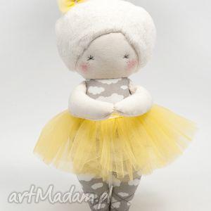 baletnica cytrynka, baletnica, taniec, lalka, prezent, handmade, dziewczynka lalki