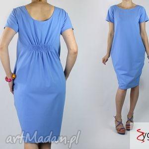 sukienki fold sukienka z dzianiny bawełnianej, sukienka, dzianina, bawełna, casual