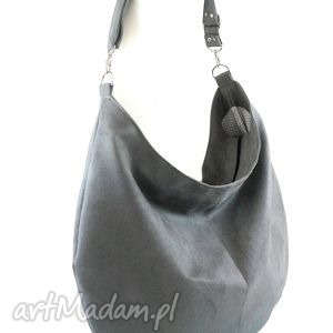 na ramię sack gray, torebka, hobo, worek, święta prezent