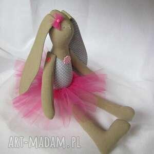 lalki siedząca baletnica, tutu, balerina, szmacianka, maskotka, angelina