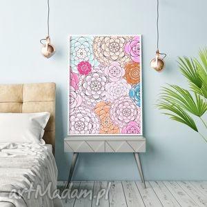 grafika kwiaty a3, kwiaty, kwiat, kwiatek, obraz, plakat