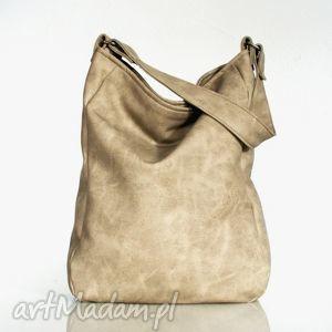 na ramię iks vege piaskowy, torba, vege, torebka, worek torebki