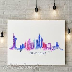 well plakat new york a3, newyork, miasto, panorama, usa, nowyjork dom