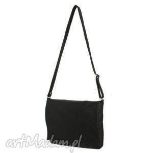 35-0008 czarna torebka aktówka damska do szkoły i na studia robin, modne, torebki