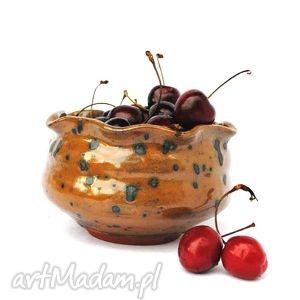ceramika czereśniówka - ceramiczna miseczka, naczynie, unikat, użytkowe
