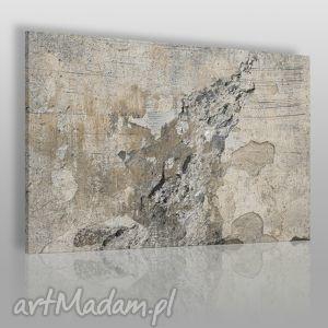 obraz na płótnie - abstrakcja beton 120x80 cm 20101 , beton, surowy