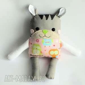 kotek tulikotek - ewa 40 cm, kotek, zabawka, maskotka, dziewczynka, miłość