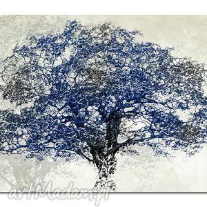 obraz xxl drzewo granat - d8 -120x70cm na płótnie, obraz, duży, xxl