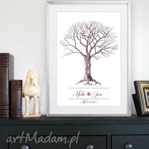 kreatywne wesele nowy design drzewo wpisów gości weselnych, ślub, wesele
