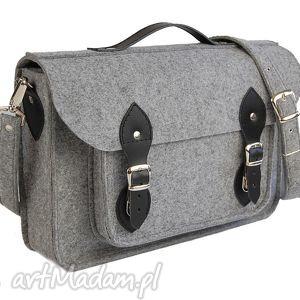 etoi design filcowa torba - personalizowana z grawerowaną dedykacją logo lub