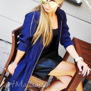 Szmizjerka Vestito Blu, szmizjerka, płaszcz, nakrycie, jesień, zima, parka