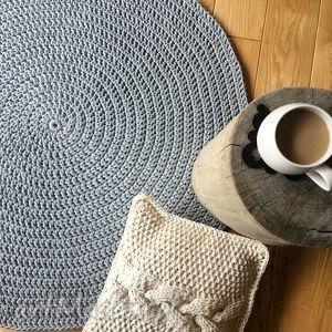 dywany okrągły dywan o średnicy 100 cm, dywan, carpet, homedecor, decor, dosalonu
