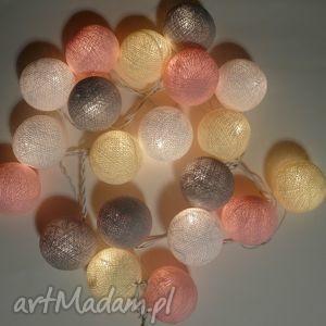 qule crme de la cotton balls lampki giralnda, prezent, dziecko, sypialnia, dom