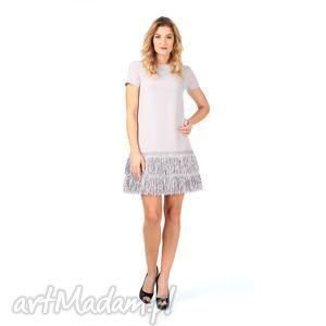 38kr - sukienka z frędzlami, lalu, sukienka, impreza, frędzle, sylwester ubrania