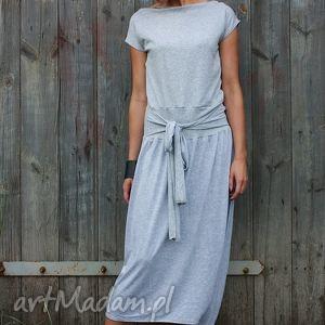 sukienki szara eminencja-kombinezon, dresowy, wygodna, wymyslny, ekstrawagancki