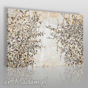 obrazy obraz na płótnie - jesienne liście 120x80 cm 23002 , liście, drzewo