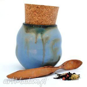 ceramika ceramiczny pojemnik - pojo ix nr154c , pojemnik, naczynie