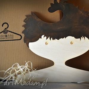 drewniany wieszak dla dzieci - chłopiec , wyjątkowy, prezent, handmade, dziecięcy