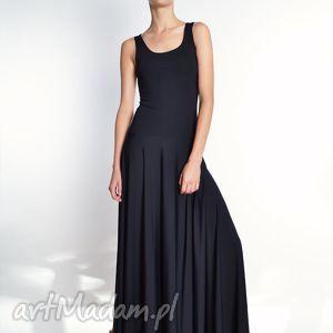 milita nikonorov alex - długa suknia rozm 34 40, jersey, wieczorowa