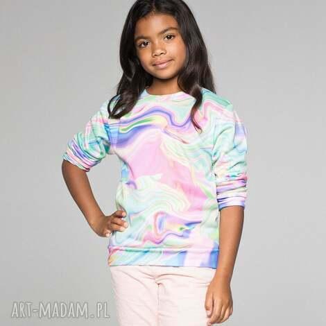 bluza dla dzieci w kolorowe mazy, bluza, dziecięca, mrgugu, sweater, kids ubranka