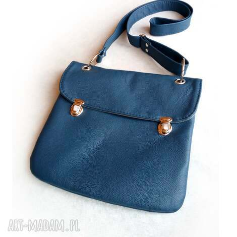 czajkaczajka prl mała granatowa torba, granat, niebieski, mała, torebka torebki