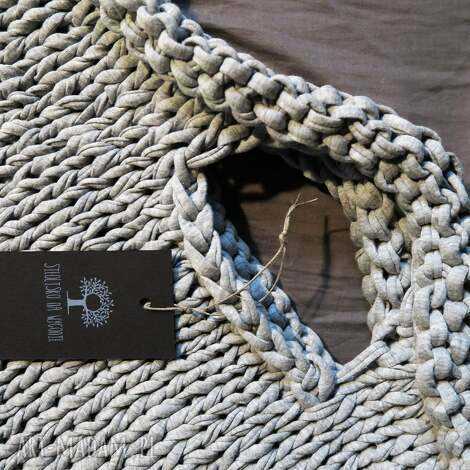 torba industrial z eco-bawełny, torba, duża, zpagetti, hooked, zakupy, oryginalna do