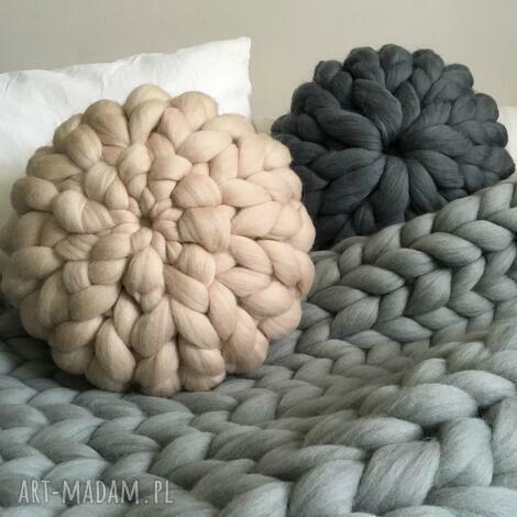 poduszki wełniana poduszka 100 wełna merynosów, poduszka, wełna, pillow