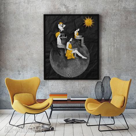 grafika energia - art print 30x40 cm , grafika, plakat, a3, fotomontaż, ilustracja