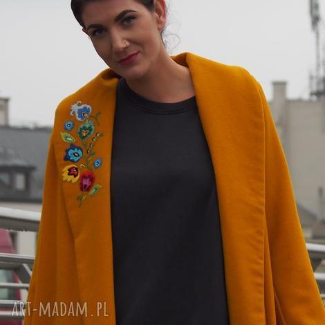 plishka płaszcz, plaszczoversize, plaszczfolk, streetstale, modernfolk, haftreczny