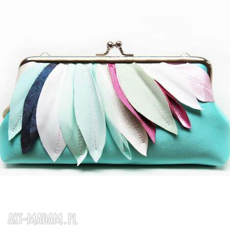 kopertówki colourfull, kopertówka, prezent, ślubna, torebka torebki