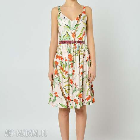 sukienki sukienka rokitnikowa, sukienka, jersey, rokitnik, lato, świąteczne prezenty