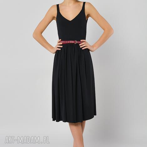 sukienka czarnuszka, sukienka, letnia, jersey