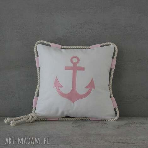 poduszka jaś marine - bogna, marine, marynistyczny, marynarski, jaś