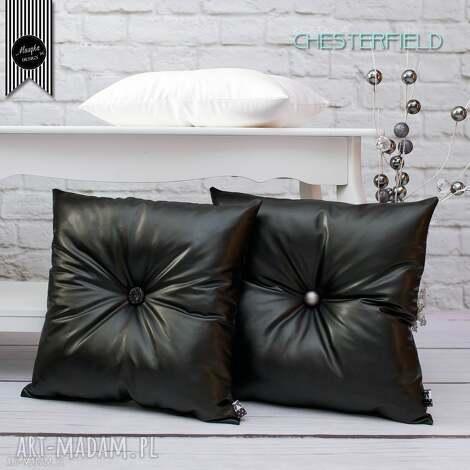 zestaw 3 poduszek chesterfield, dom, dekoracje, poduszki