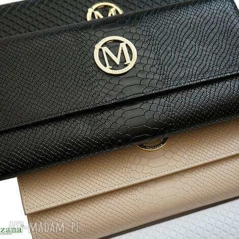 kopertówki kopertówka koperta manzana gruba kolory nowe logo nowość wąż