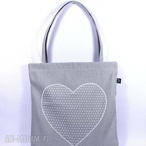 rekaproduction siatka-zakupówka 15 , siatka, serce, bawełna, torba, zakupy, eko