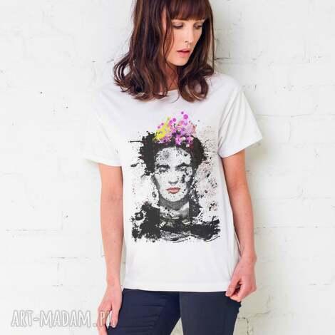 koszulki frida painted oversize t-shirt, ubrania