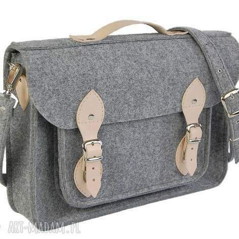 na laptopa filcowa torba - personalizowana z grawerowaną dedykacją logo lub grafiką