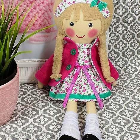 malowana lala julita, lalka, zabawka, przytulanka, prezent, niespodzianka, dzieko