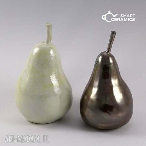 ceramika figurki gruchy ii, figurka, rzeżba, ceramika, prezent, gruszka dom