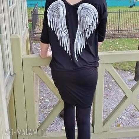 black angels_wings tunic, skrzydla, anielski