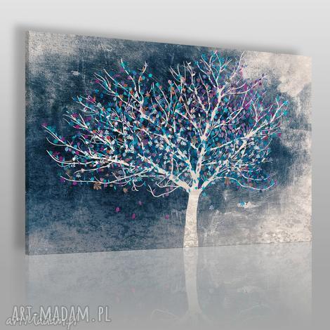 obraz na płótnie - drzewo liście 120x80 cm 30602 , drzewo, liście, roślina, natura