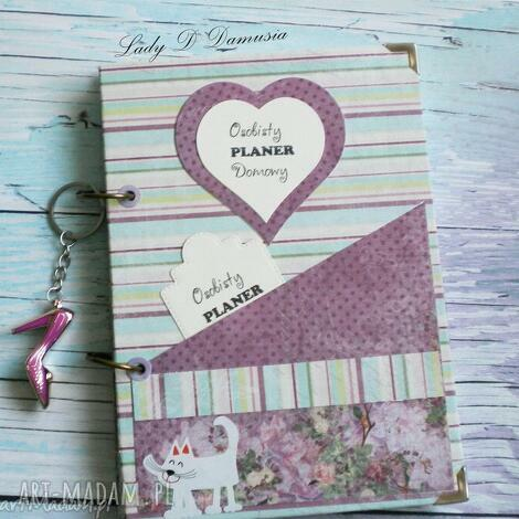 notes osobisty planer domowy, notes, planer, zapiski, prezent scrapbooking