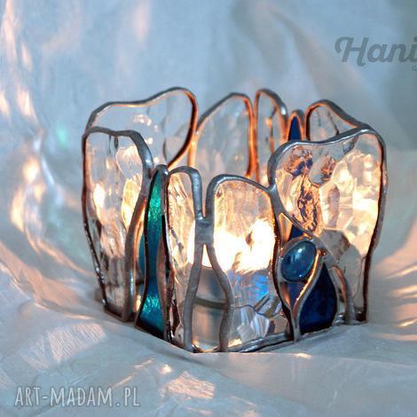 święta prezent, lampy lampion witrażowy ocean, lampion, świecznik, witraż, witrażowy