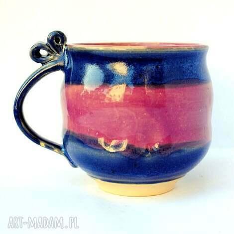 ceramiczny kubek jt94, ceramika, kubek, naczynie, użytkowe, unikatowe, kuchnia