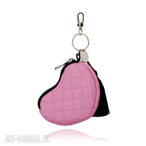portfele breloczek 144 różowy, brelok, breloczek, portfelik, gadżet