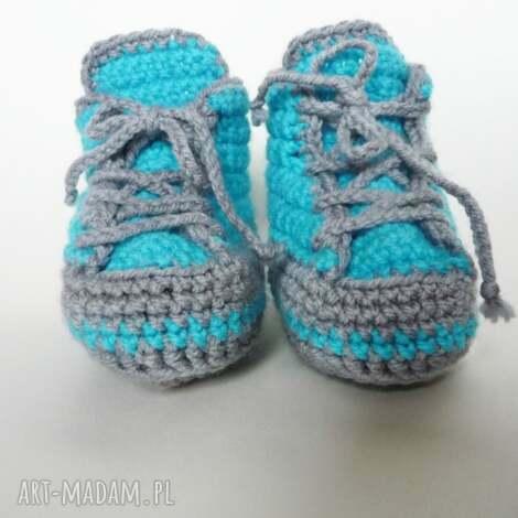 buciki szydełkowe, buciki, trampki dla dziecka, pod choinkę prezenty