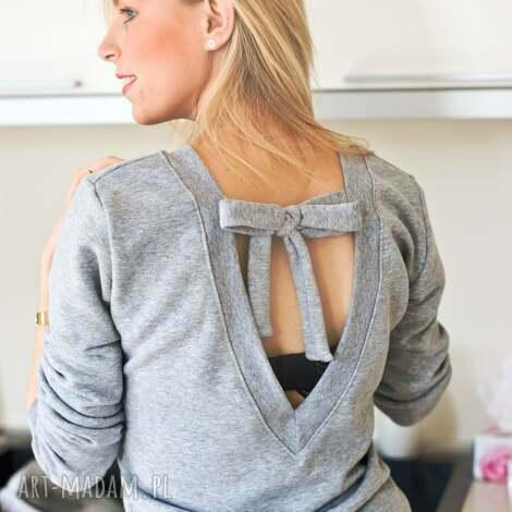 bluzki oryginalna modna bluza bluzka z dekoltem wycięciem bawełniana xs s