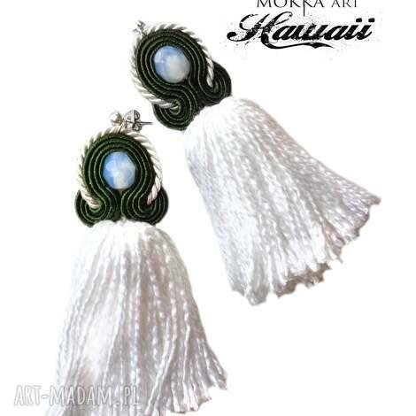 kolczyki sutasz mix ii z kolekcji hawaii, sutasz, sutaż, orientalne, chwosty