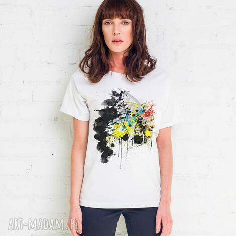 indian painted oversize t-shirt, oversize